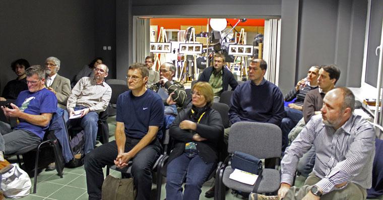 Aktelőadásom hallgatói, Tripont Fotóakadémia, 2013.11.29.
