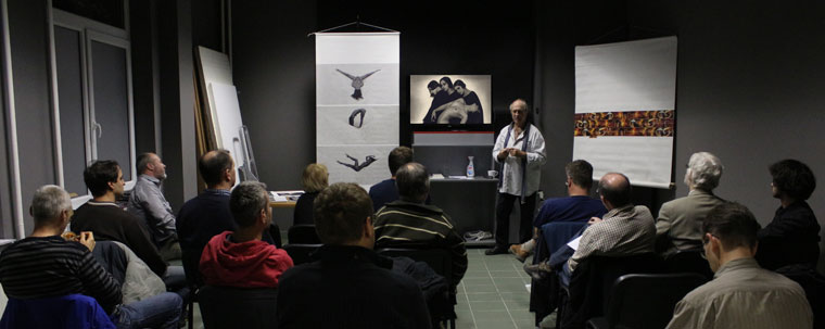 Eifert János előadása az aktfényképezésről, Tripont Fotóakadémia, 2013.11.29.