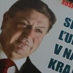 Választási plakát Kassán (Photo: Eifert János)