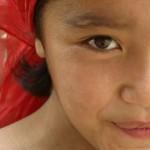 Eifert János: Ujgúr lány portréja (Kína, Kashgar, 2006)