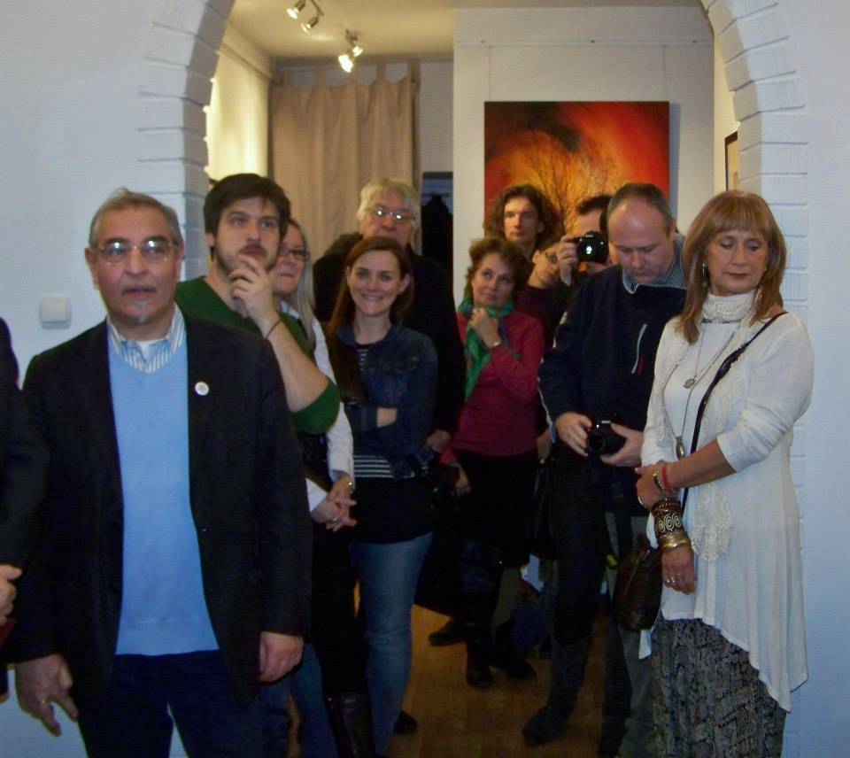 Artphoto Galéria, Eifert-kiállítás megnyitó, 2013.12.13. (Kapusy György felvétele) 06