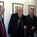 Réz András megnyitja a kiállítást (Kapusy György felvétele) 08