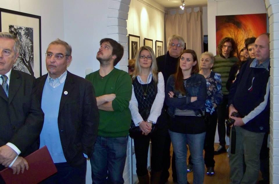 Artphoto Galéria, Eifert-kiállítás megnyitó, 2013.12.13. (Kapusy György felvétele) 09