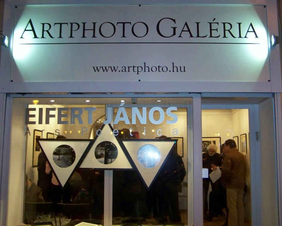 Artphoto Galéria, Eifert-kiállítás megnyitó, 2013.12.13. (Kapusy György felvétele) 11