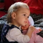 Léna a babával (Photo: Eifert János)