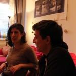 Kata és Andris, 2013.12.26. (Eifert János felvétele)