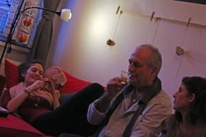 Lili és Papa, 2013.12.26. (Eifert András felvétele)