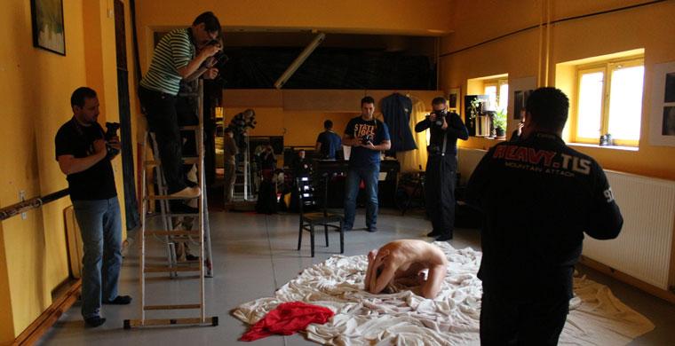 MOHA-aktworkshop, 2014.01.26. (Eifert János felvétele)