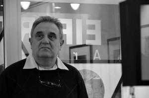 Peti Péter az Artphoto Glériában, 2014.01.29. (Gergely Bea felvétele)