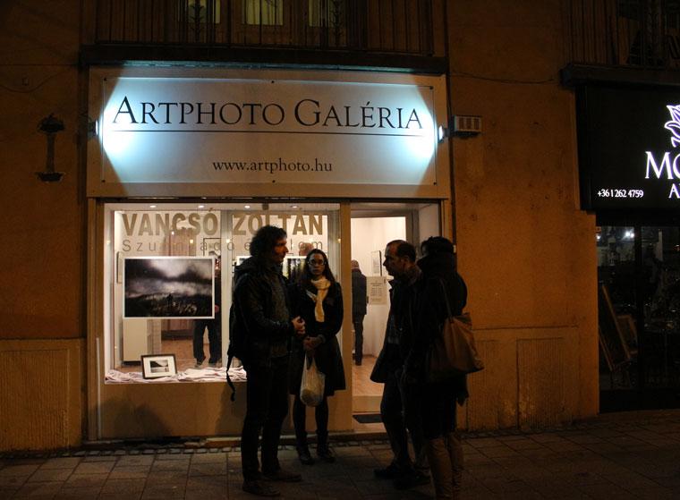 Vancsó Zoltán kiállítása az Artphoto Galériában, 2014.02.17. (Eifert János felvétele)