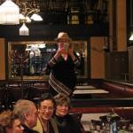 Judith Hart és barátai a Centrál Kávéházban, Budapest, 2014.02.20. (Photo: Eifert János)