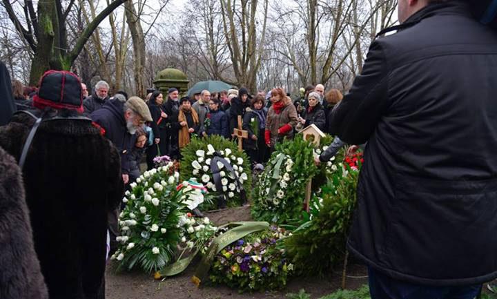 Jancsó Miklós temetése, 2014.02.22. (Szilágyi Lenke felvétele)