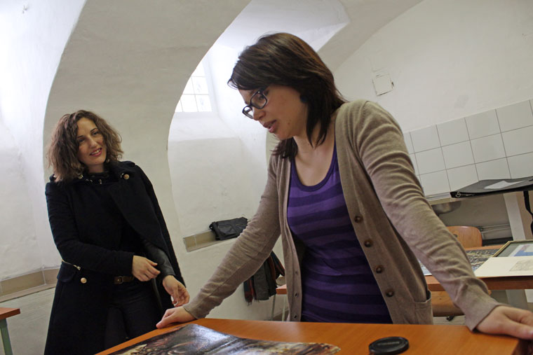 Szász Lilla és Szenográdi Réka, 2014.03.06. (Eifert János felvétele)