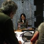 Szenográdi Réka a Civil rádióban, 2014.03.19. (Eifert János felvétele)