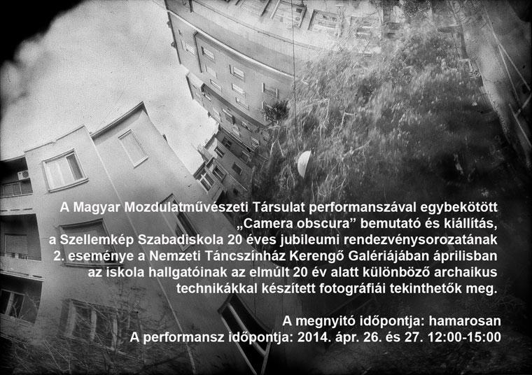 Szellemkép Szabadiskola kiállítása a Kerengő Galériában, 2014.03.26.