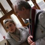 Divatiskola-Lili lányommal, 2014.03.27.  (Móger Ildikó felvétele)