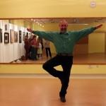 Farkas Csaba táncol (Eifert János felvétele)