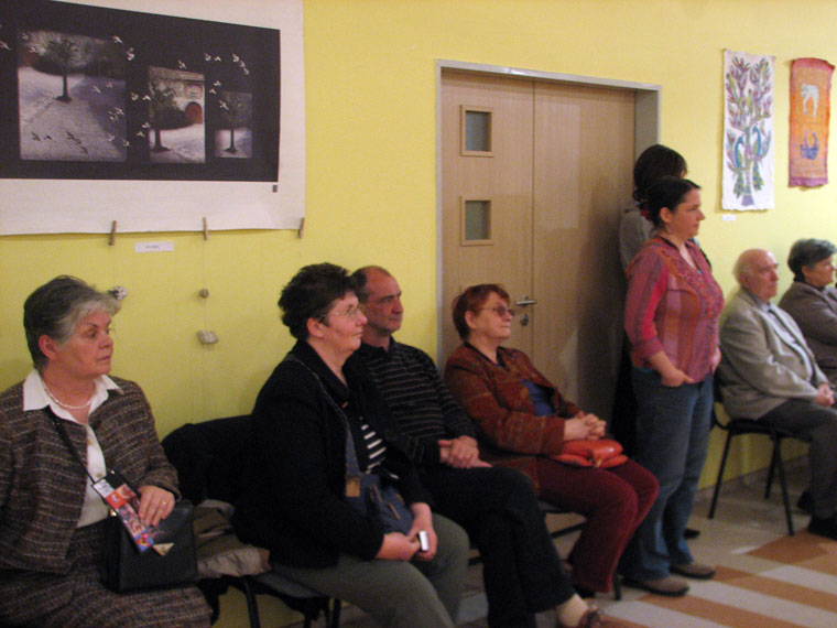 Kiállításmegnyitó, 2014.03.28. (Photo: Borbély F. Gusztáv)