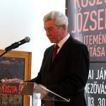 Almási István polgármester köszöntője (Eifert János felvétele)