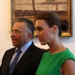 Kovács Gábor, a KOGART alapítója, párjával (Eifert János felvétele)