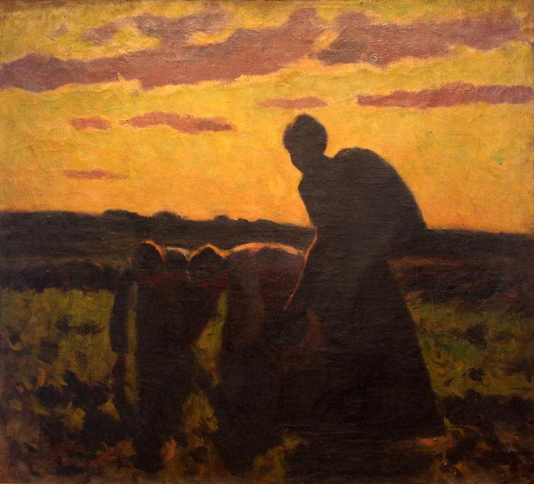 Koszta József: Mezei munka