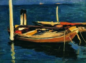 Koszta József: Csónakok (1912) Kovács Gábor Gyűjtemény