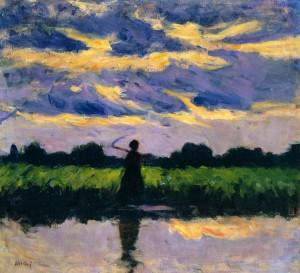 Koszta József: Eső után (Vihar előtt, 1909) Magyar Nemzeti Galéria