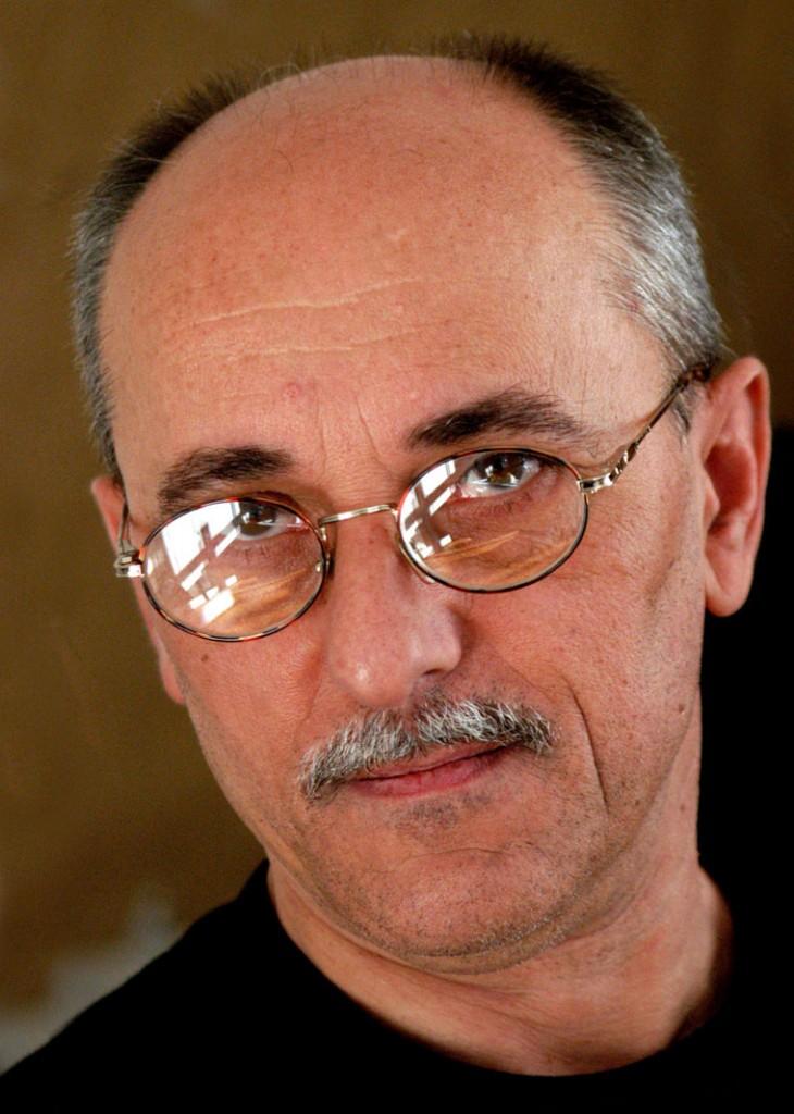 Kerekes Gábor fotóművész, 2002 (Eifert János felvétele)