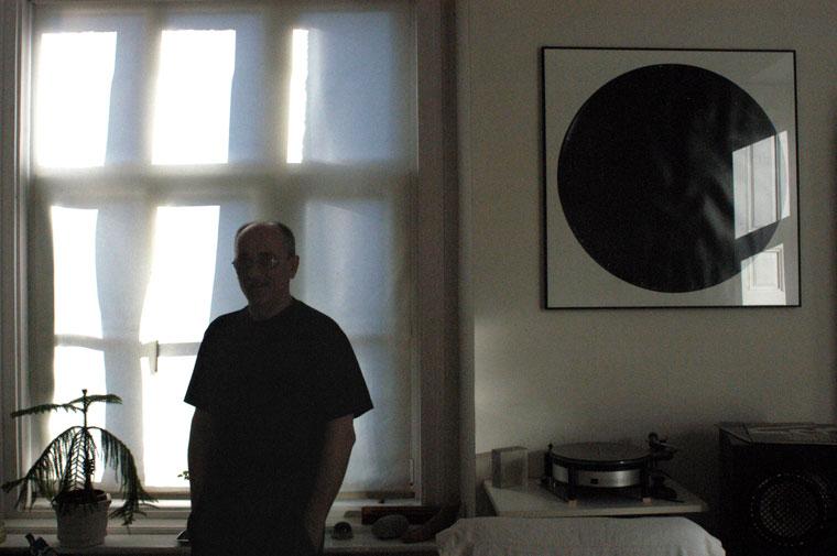 Kerekes Gábor otthonában, 2002.12.08. (Eifert János felvétele)