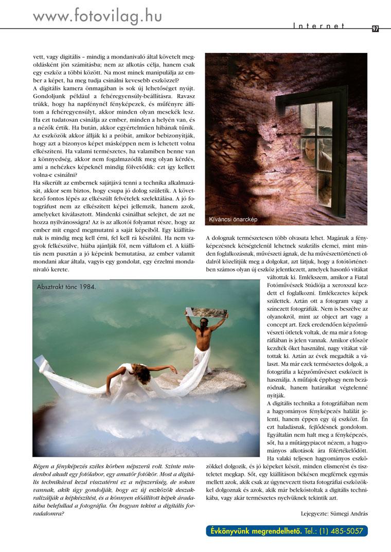 Digitális Fotó Magazin 97.o. - 2003.10.