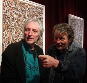 Olajos György és Szarvas József, 2014.04.18. (Eifert János felvétele)