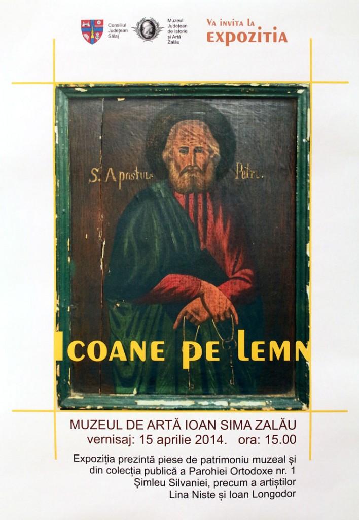Ikonkiállítás plakátja (Eifert János reprodukciója)