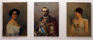 Portrék az Ioan Sima Gyűjtemény egyik kiállításáról (Eifert János felvétele)
