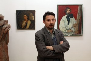Szabó Attila múzeumigazgató, 2014.04.24. (Eifert János felvétele)