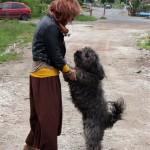 Ildikó Pocival. Szilágyság, Románia (Eifert János felvétele)