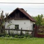 Falusi házacska, Szilágyság, Románia (Eifert János felvétele)