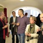 Varga István kiállításának megnyitóján (Szőcs Tamás felvétele)