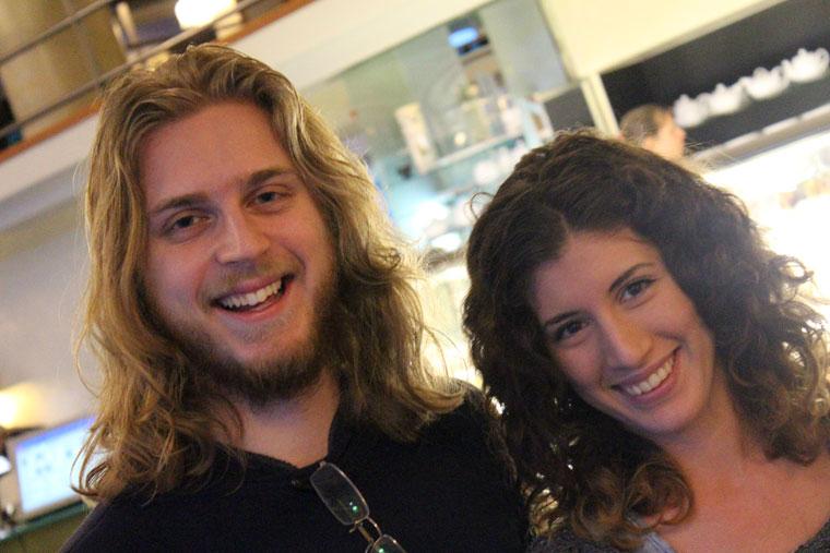 Unokatestvérek: Leonidas Haralambos és Eifert Kata Nóra (Eifert János felvétele)