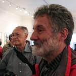 Sehr Miklós, Tímár Péter és mások MA®KOVI©S FE®EN©: AKASZTÁSRA ÍTÉLVE! c. kiállításának a megnyitóján, az Artphoto Galériában, Budapest, 2014. május 19. (Eifert János felvétele)