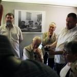 Balla Demeter kiállításának megnyitóján, Cultiris Galéria (Photo: Eifert János)