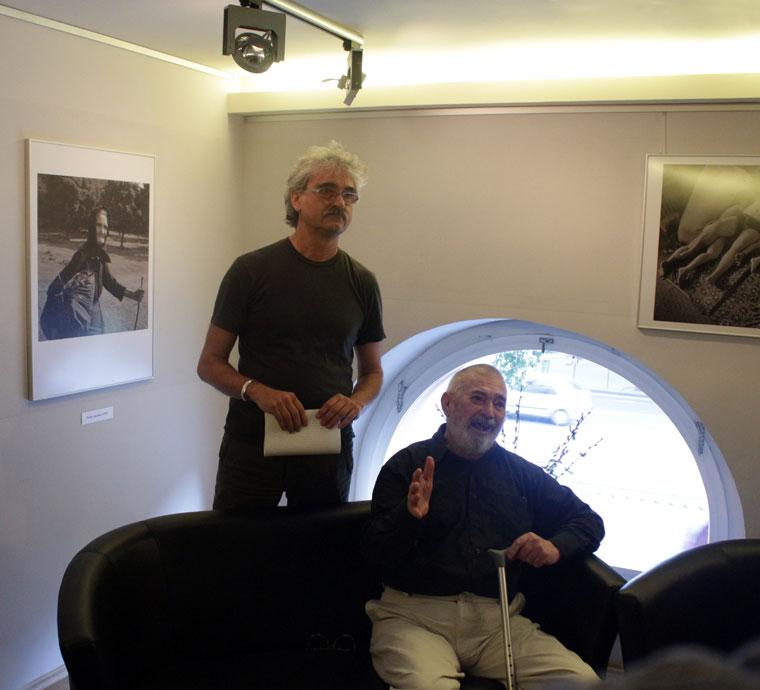 Kincses Károly és Balla Demeter (Photo: Eifert János)