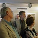 Haris László és Tímár Péter fotóművészek  Balla Demeter kiállításának megnyitóján, Cultiris Galéria (Photo: Eifert János)