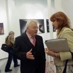 Toso Doncsev és Nadezsda Pavlova Eifert János ARS POETICA c. kiállításának megnyitóján a Szófiai Magyar Kult