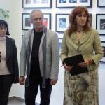 Nadezsda Pavlova megnyitja az Eifert- kiállítást, Szófiai Magyar Kulturális Intézet, 2014.06.03.