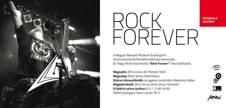 ROCK-FOREVER -  dr. nagy Attila kiállítása a Magyar Nemzeti Múzeum Esztergomi Vármúzeumának Rondella Galériájában
