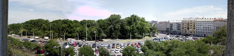 2014.07.02.-Rálátás-a-Városligetre-ablakomból