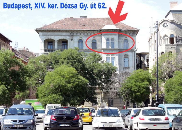 Budapest XIV. ker. Dózsa-Gy. út 62.