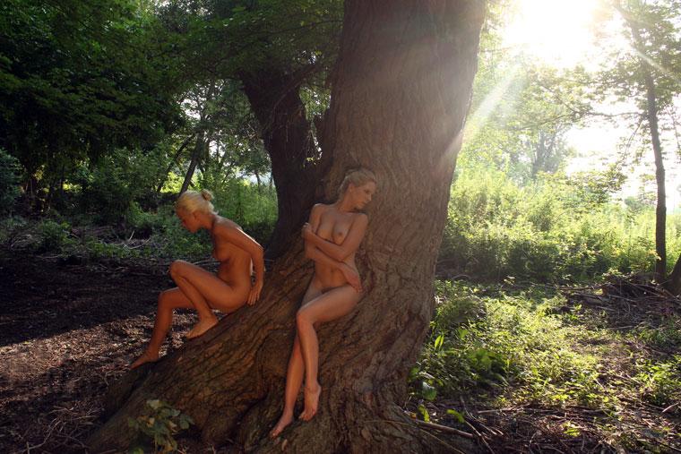 Eifert János: Két lány a fűzfánál, 2014.08.10.