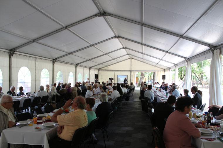 Vásárhelyről elszármazottak találkozója, Mártély, 2014.08.17. (Eifert János felvétele)