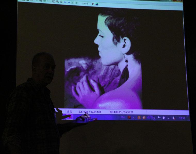 Eifert elemez - BMK-fotózsűri, 2014.10.17. (Vadócz Zsuzsa felvétele)